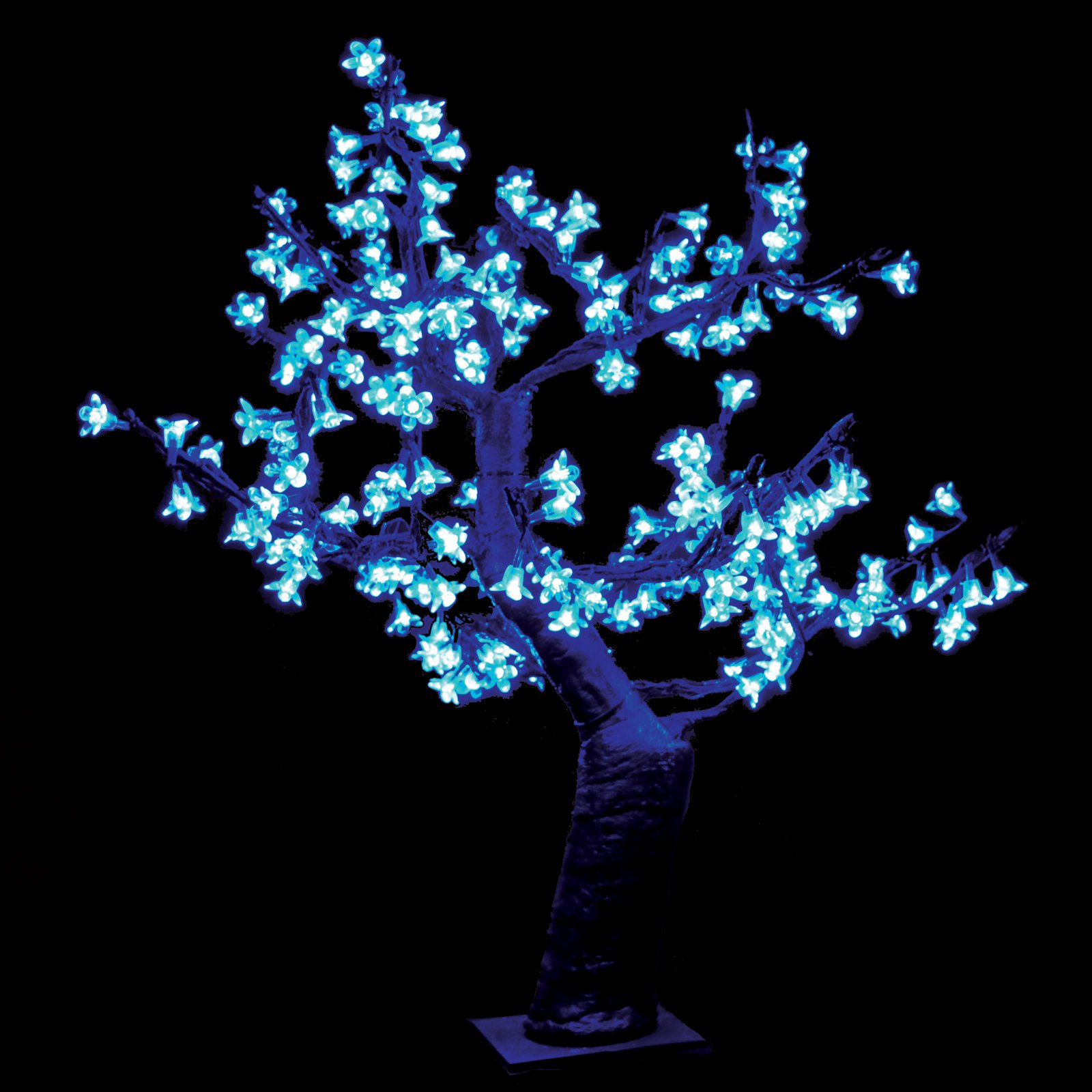 2.5 ft. Pre-lit LED Cherry Blossom Tree - Blue