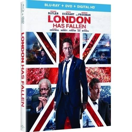 London Has Fallen (Blu-ray + DVD + Digital HD) (With INSTAWATCH)