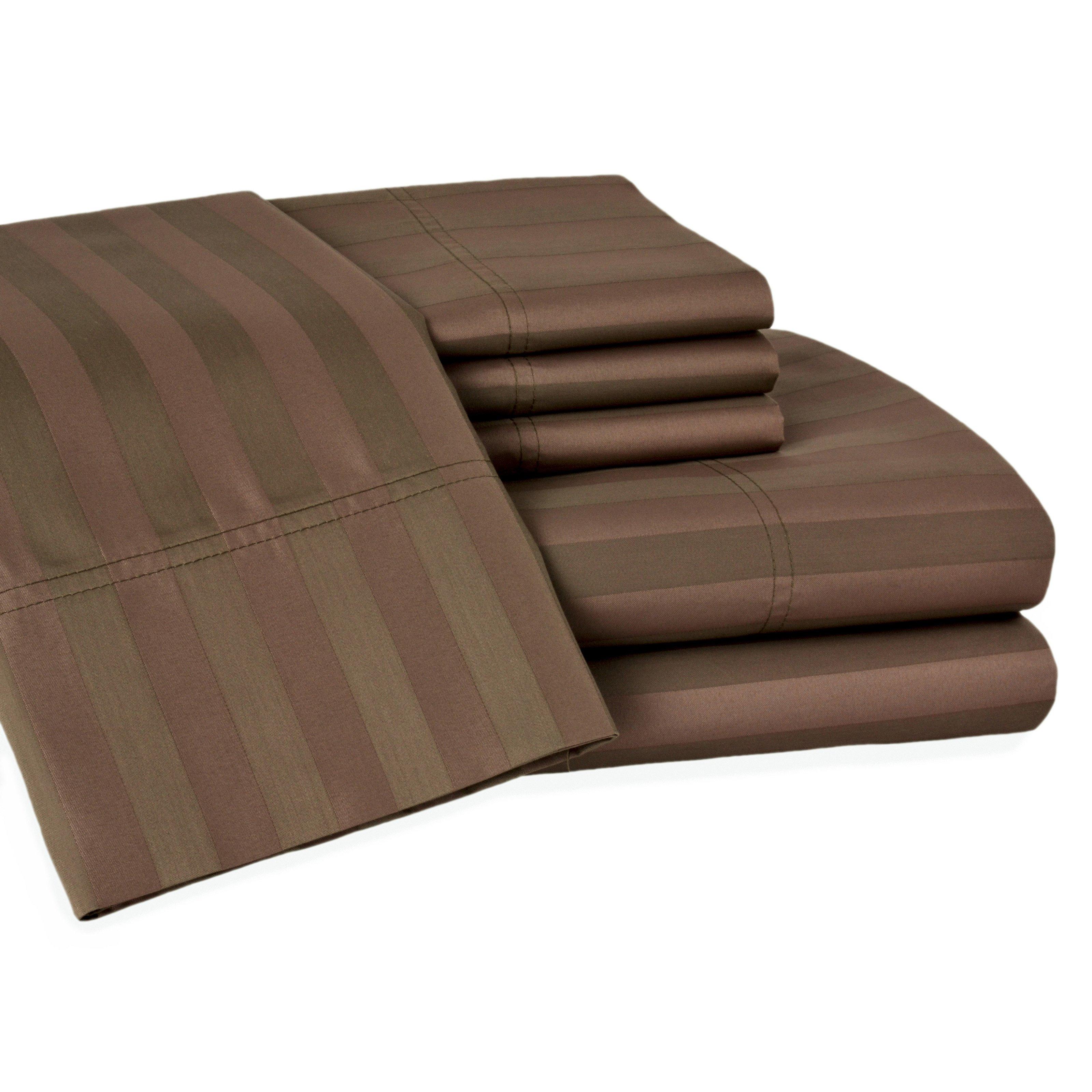 Elite Home T600 Delray Cotton Rich 6 pc. Sheet Set
