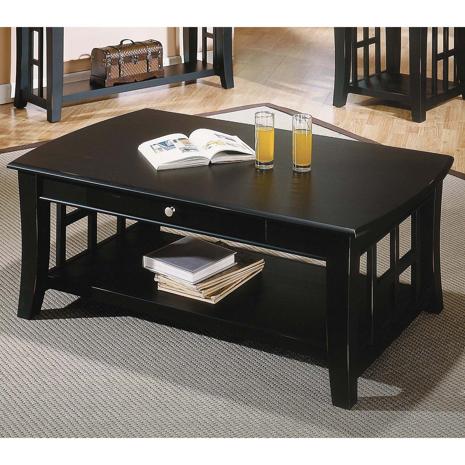 steve silver cassidy coffee table - walmart
