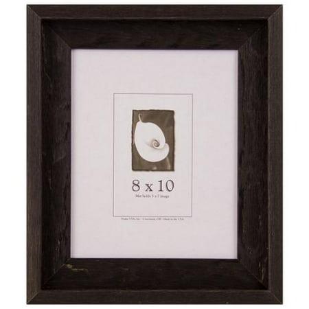 frame usa appalachian barnwood picture frame 8x10. Black Bedroom Furniture Sets. Home Design Ideas