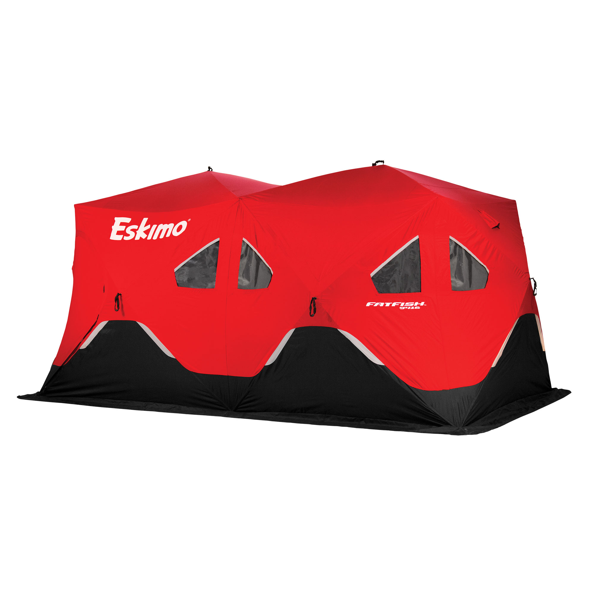 Eskimo FF9416 FatFish Pop-up Portable Ice Shelter, 7-9 Person by Ice Shantys
