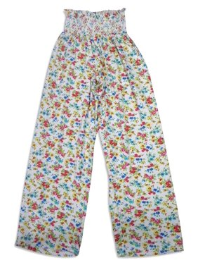 Bee Posh Girls and Ladies / Womens Cozy Knit Pajama Lounge Sleep Pant, 25539 pink sasha / Large