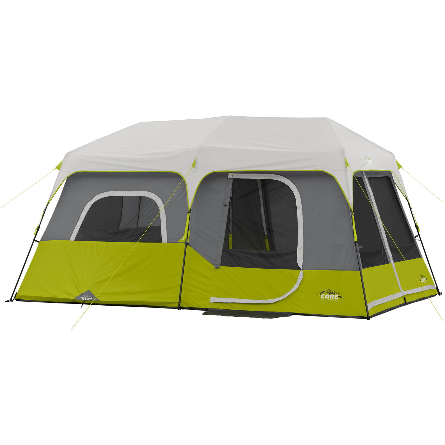Click here to buy Core Equipment 14' x 9' Instant Cabin Tent, Sleeps 9 by Elevate LLC.