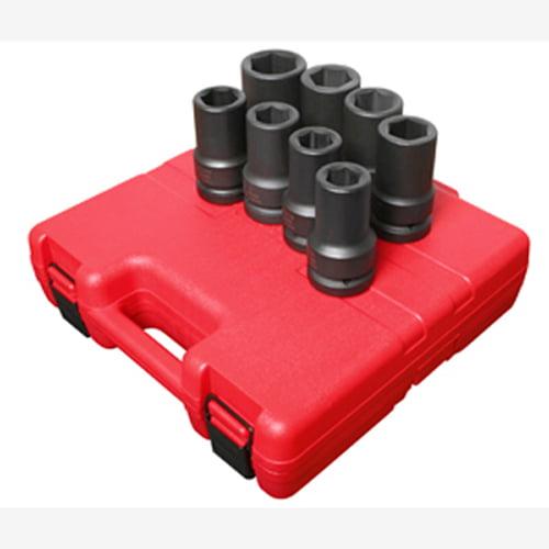 Sunex 215mzud 1//2-Inch Drive 15-mm 12-Point Deep Universal Impact Socket