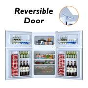 Refrigerator Freezer Cooler Fridge Compact 3.2 cu ft.Unit - image 4 of 10
