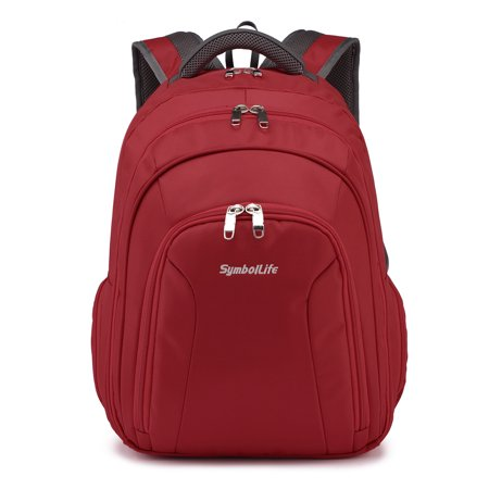 Laptop Backpack Bussiness Trip Headset Hole Music Fans Fits Up to 15.6 Inch Laptops and Tablets