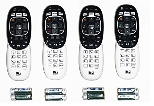 4 Pack DIRECTV RC73 IR RF Remote Control by DirecTV