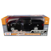 2019 Ford F-150 Limited Crew Cab Pickup Truck Black 1/24-1/27 Diecast Model Car by Motormax