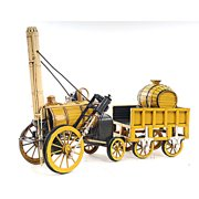 Old Modern Handicrafts Decorative 1829 Stephenson Rocket Steam Locomotive