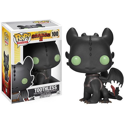 Funko Pop! Movies How to Train Your Dragon 2 Toothless Vinyl Figure
