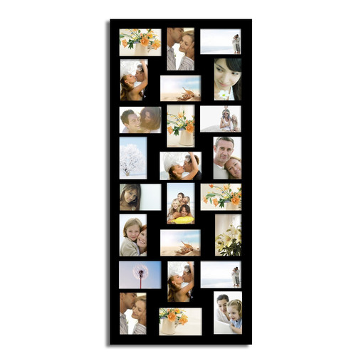 Adeco Trading 24 Opening Wood Wall Hanging Picture Frame