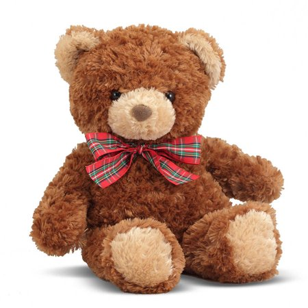 Melissa & Doug Little Tucker Teddy Bear Stuffed Animal