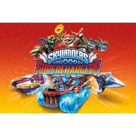 Skylanders Superchargers - TV Show Poster / Print (Characters) (Size: 36