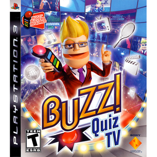 Buzz! Quiz TV (PS3) (Game Only) - Pre-Owned