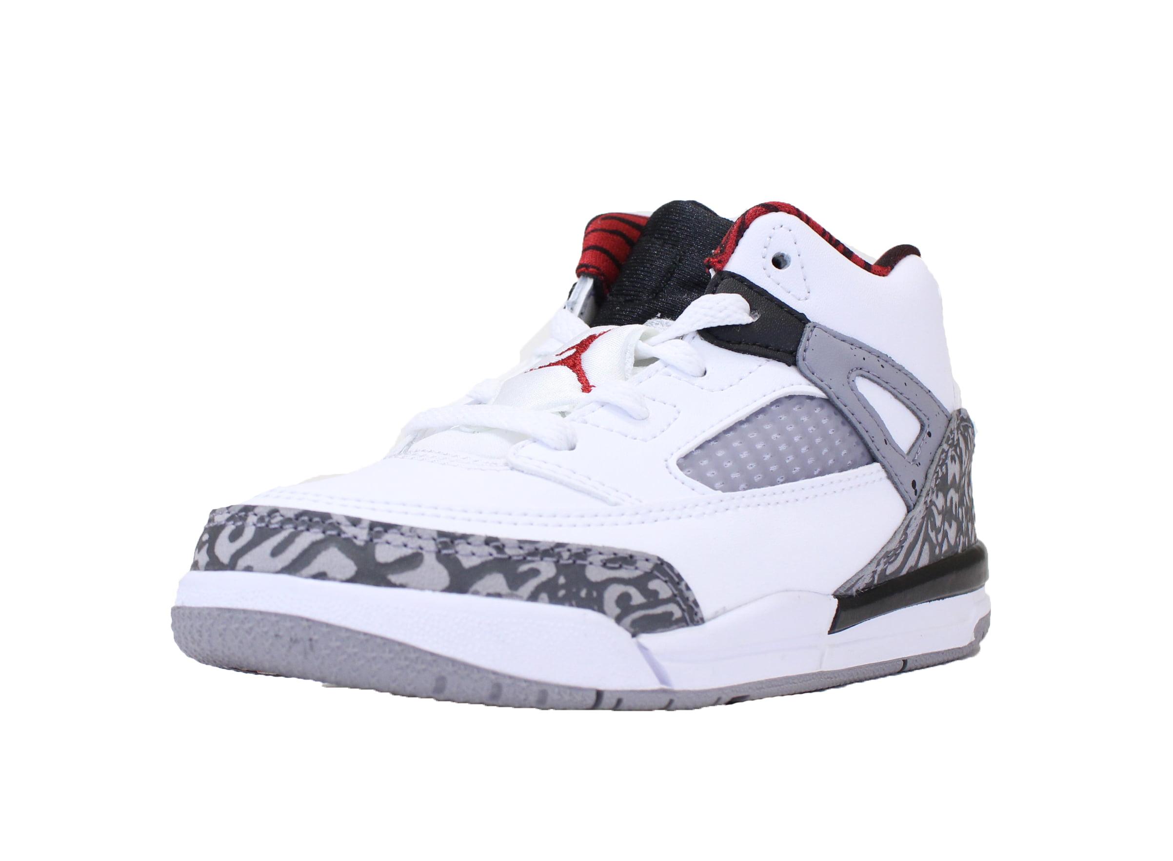 buy online a64a2 16356 Jordan - NIKE AIR JORDAN SPIZIKE TD SZ 10 C TODDLER WHITE RED CEMENT GREY  BLACK 317701 122 - Walmart.com
