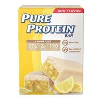Pure Protein Lemon Bar 50 grams, 6 Value Pack