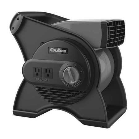 AIR KING 9550 Portable Blower Fan, 120V, 310 cfm, Gray