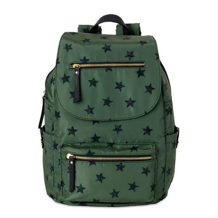 No Boundaries Women's Nylon Cargo Backpack, Sea Turtle Star