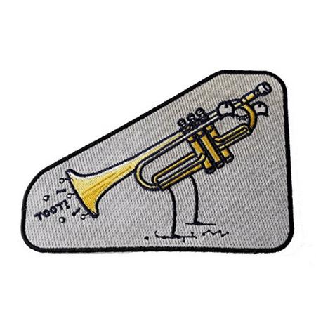 Trumpet Applique (