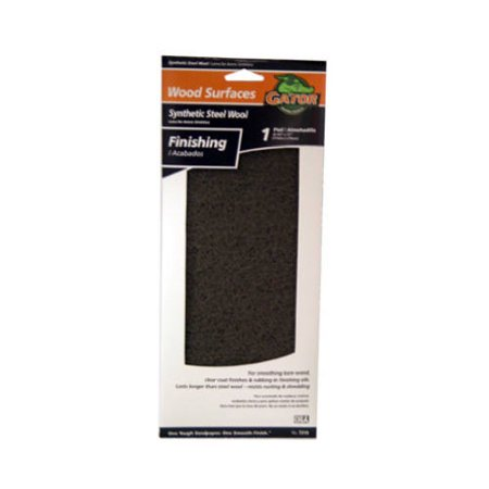ALI INDUSTRIES 7319 Grey Wood Finishing Pad - Gray Finishing Pad