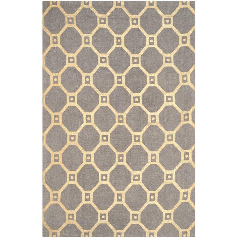 "Safavieh Cedar Brook 7'3"" X 9'3"" Handmade Jute Rug in Gray and Gold - image 3 of 8"