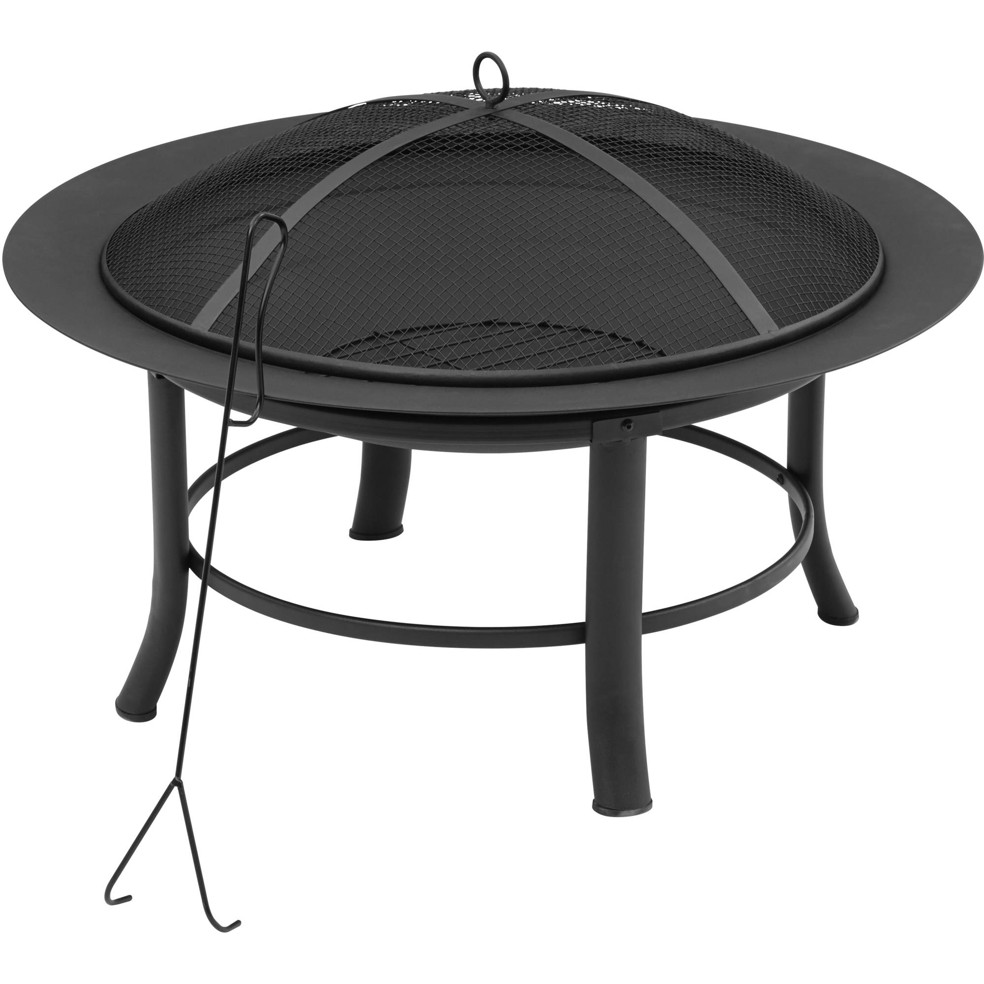 "Mainstays Fire Pit, 28"" Image 1 of 7"