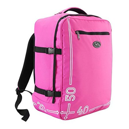 Barcelona 20 X 16 X 8 Carry on Luggage Backpack (pink) (Scubamax Backpack)
