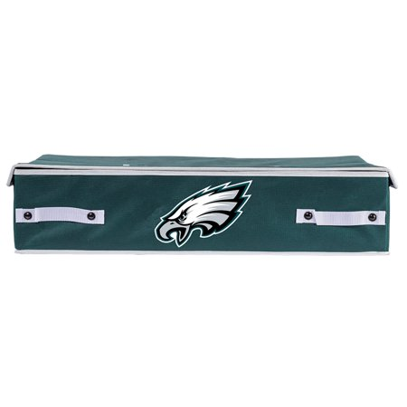 Franklin Sports NFL Philadelphia Eagles Under The Bed Storage Bins - (Cardinal Basket)