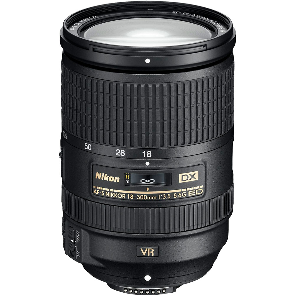 Nikon AF-S DX NIKKOR 18-300mm All-in-One Zoom Lens