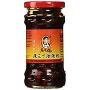 NineChef Bundle - Lao Gan Ma(Laoganma) Spicy Three Mixed La San Ding (4 Bottle)+ 1 NineChef ChopStick