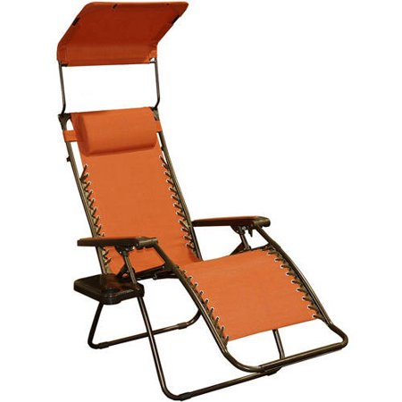Bliss Gravity-Free Solid-Color Chair with Sun-Shade and Cup