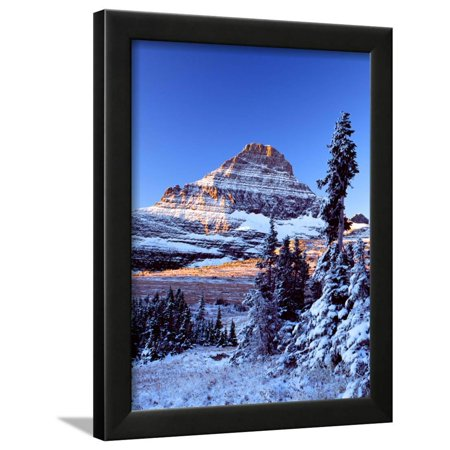 Reynolds Moutain Framed Print Wall Art By Ike Leahy