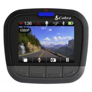 Cobra CDR855BTR HD Dash Cam with Bluetooth&#0174 Smart Enabled GPS - Recertified