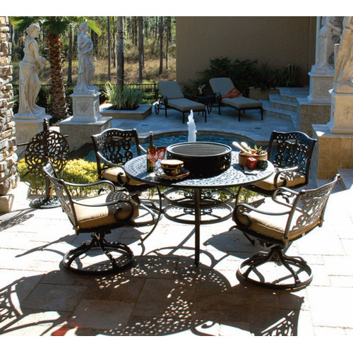 Art Frame Direct Maravilla 8 Piece Fire Pit Seating Group