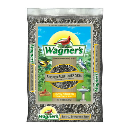 Wagner's 5 Lb 100% Striped Sunflower Seed