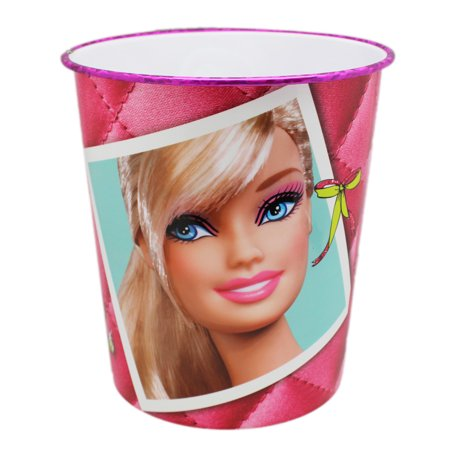 Barbie Pink Single Room Trash Can