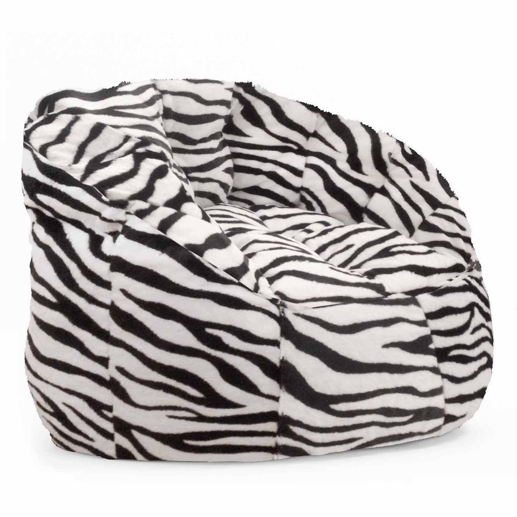 Cocoon Faux Fur Bean Bag Chair Multiple Colors Walmart