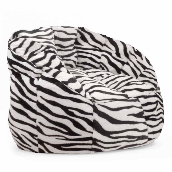 cocoon faux fur bean bag chair multiple colors. Black Bedroom Furniture Sets. Home Design Ideas