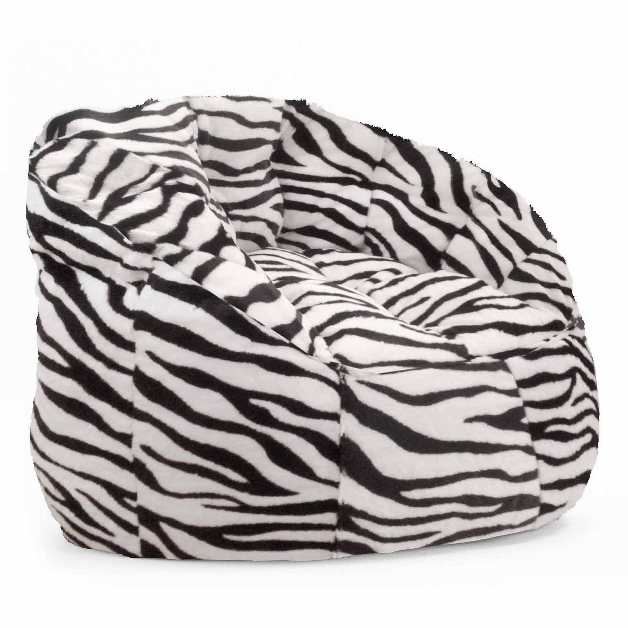 Cocoon Faux Fur Bean Bag Chair, Multiple Colors