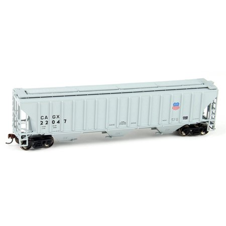 Athearn 14722 HO Union Pacific (CAGX) PS 4740 3-Bay Covered Hopper (Union Pacific 3 Bay)