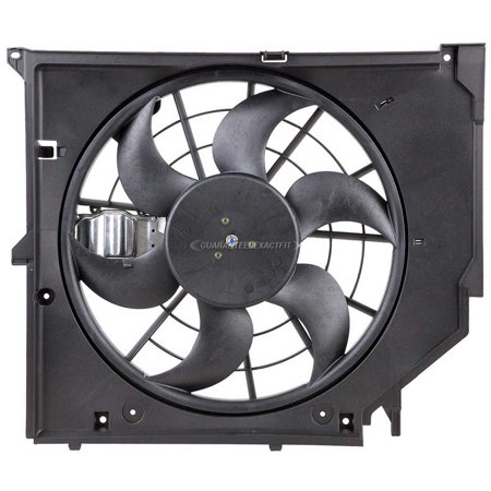 New Radiator Side Cooling Fan Assembly For BMW 323i 325i 328i 330i xi Ci E46 - New Radiator Fan Assembly