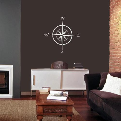 "Sweetums Compass Wall Decal - 22"" x 22"""