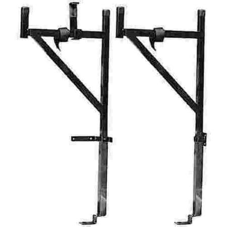 - Dee Zee Steel Ladder Rack, Half Rack 250Lb Limit, Fullsize Trucks