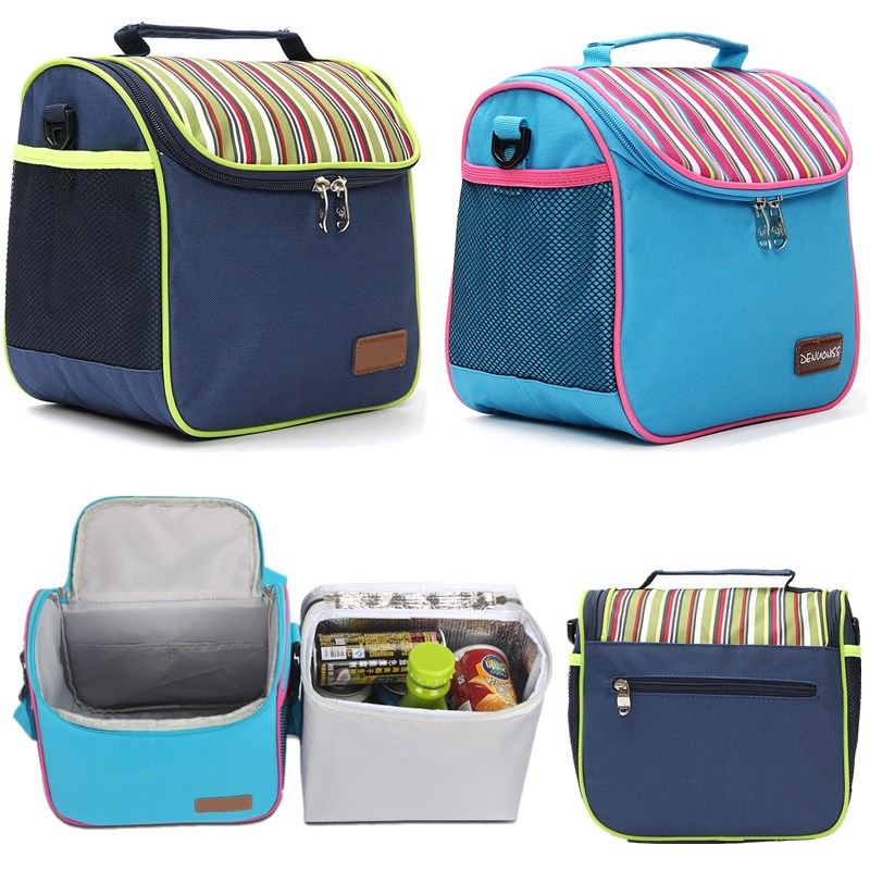 Insulated Picnic Cooler Thermal Portable Camping Picnic Lunch Carry Waterproof Storage Bags