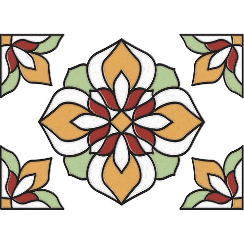Brewster Home Fashions Salem Window Decal