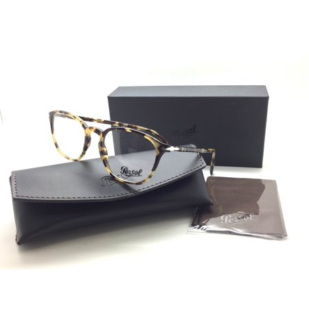 527dc52203577 Persol Men Tortoise Square New Eyeglasses PO 3178 V 1056 52 Plastic -  Walmart.com