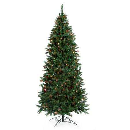 Classic Pine Slim Pre Lit Christmas Tree