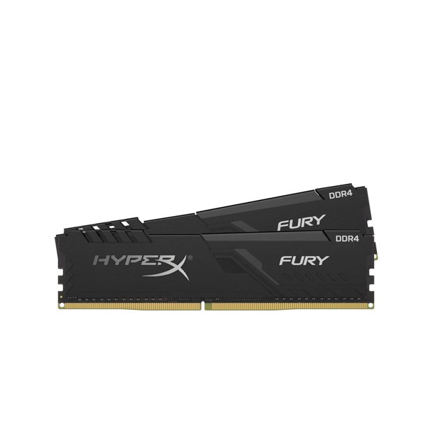 HyperX Fury 8GB 2400MHz DDR4 CL15 DIMM (Kit of 2) Black