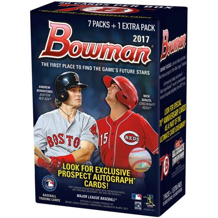 Mlb 2017 Bowman Chrome Baseball Cards Trading Card Blaster Box